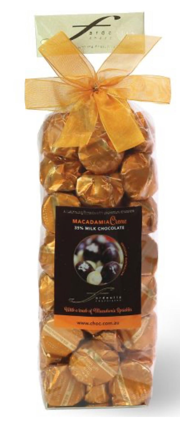 Fardoulis Chocolate - Macadamia Milk Chocolate 250g Gift Bag