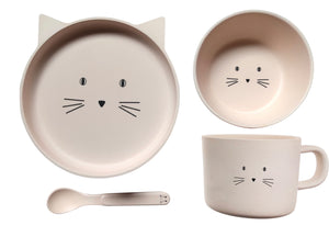 Bamboo Ware Kids Dinner Sets Animals