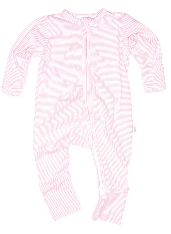 Toshi Long Sleeve Sleepy Time Onesie Blush