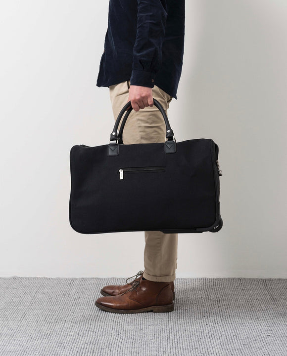 Citta Canvas Trolley Bag Black