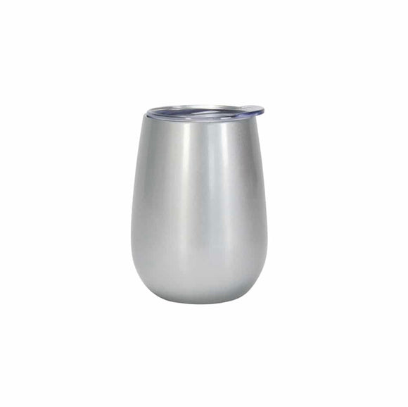Wine Tumbler Double Walled - Silver