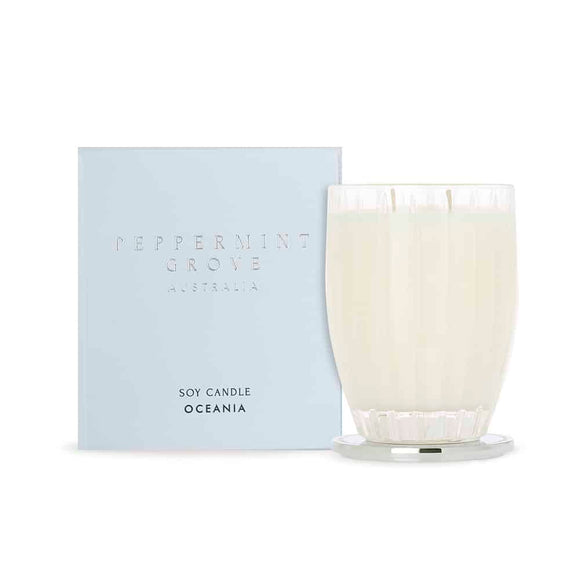 Peppermint Grove Oceania Large Candle 350g