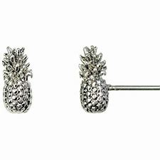 Hultquist Silver or Gold Pineapple Ear Studs