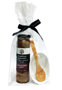 Salted Caramel Sauce, Bowl & Bag