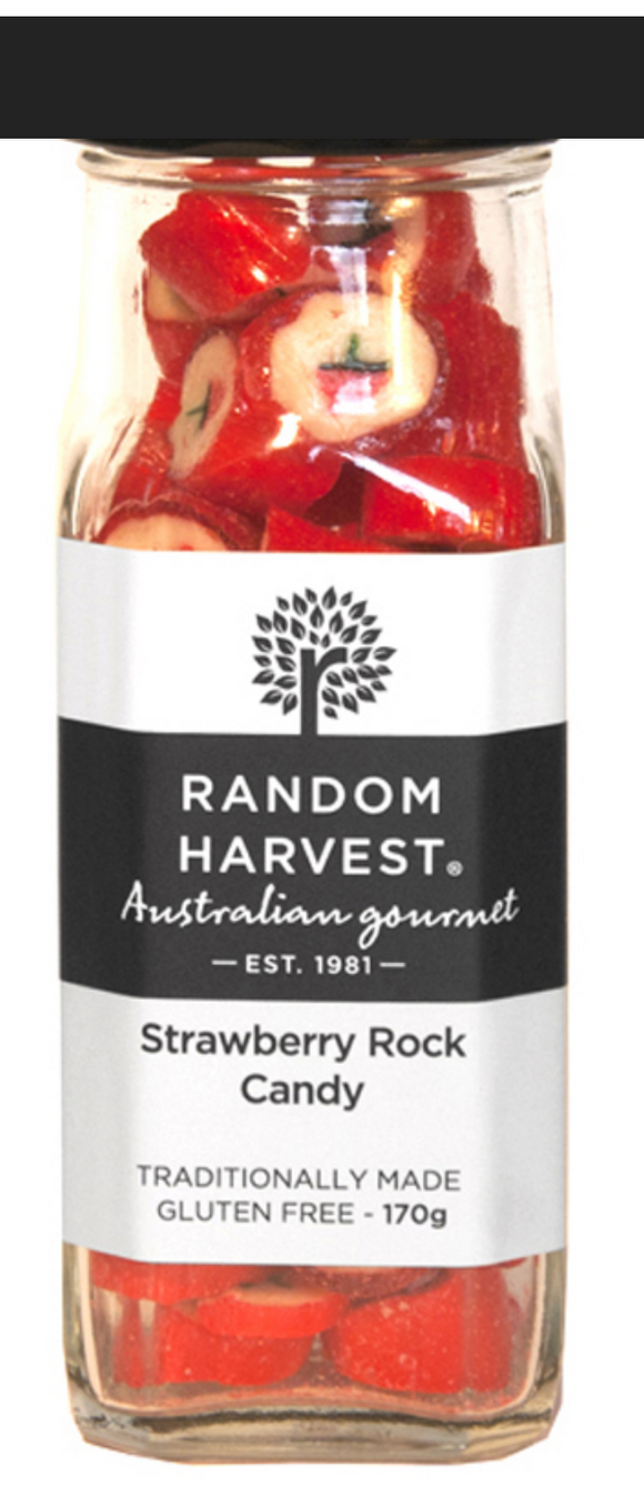 Strawberry Rock Candy 170g