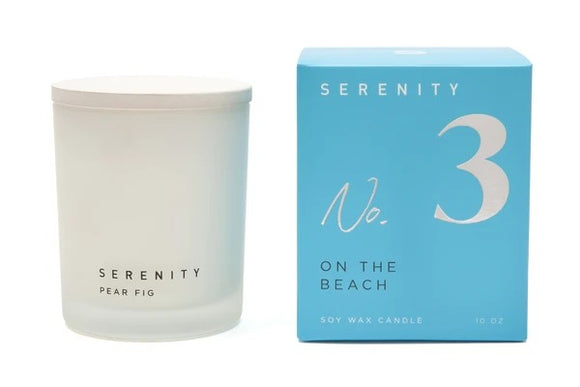 Serenity Signature - On the Beach Candle