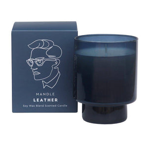 Mandle Scented Candle - Leather