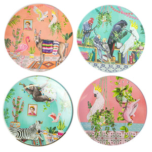 LaLa Land Plate Set Tropical Abode