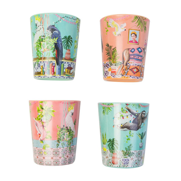 LaLa Land Cup Set Tropical Abode