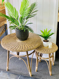 Holmes Rattan Round Weave Table - Large