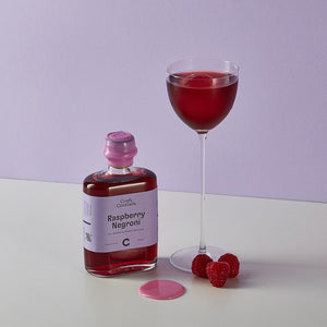 Raspberry Negroni (Serves 2)