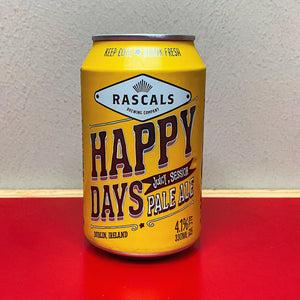 Rascals Happy Days Session Pale Ale