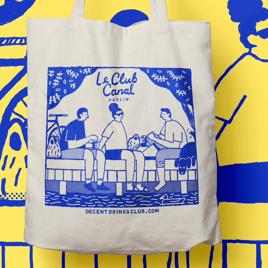 Le Club Canal Tote Bag