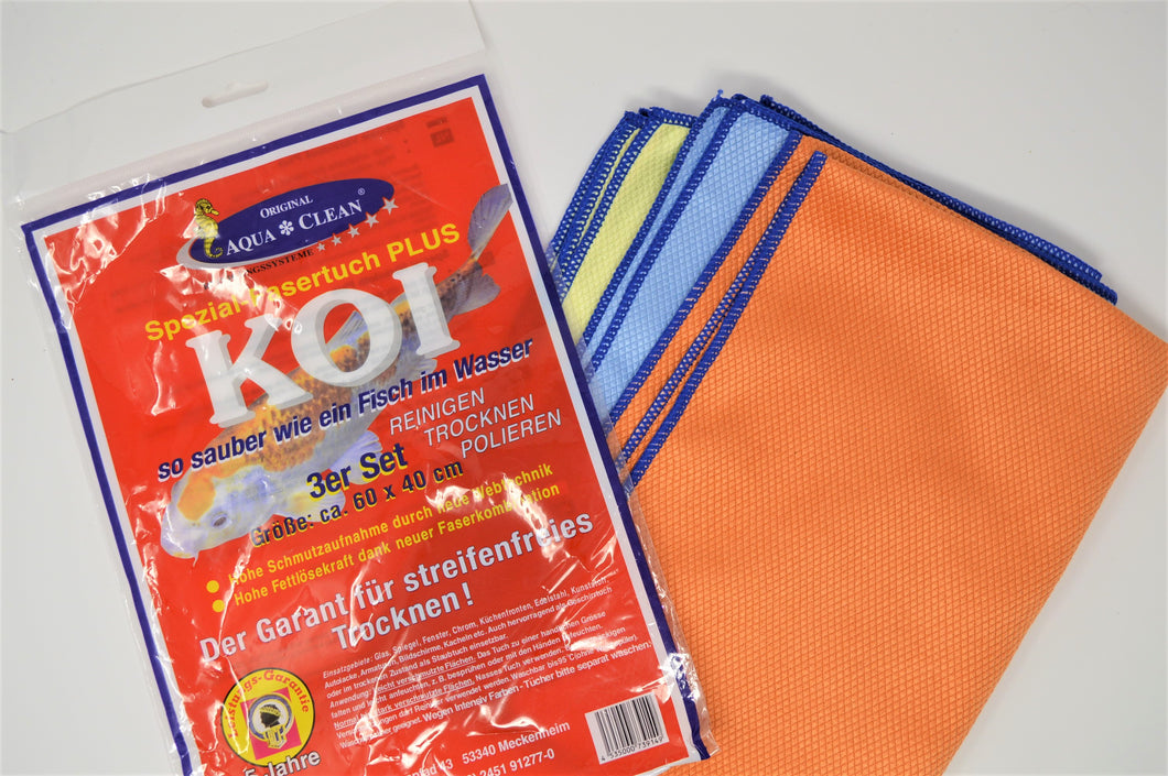 Koi-Tücher 3er  Set