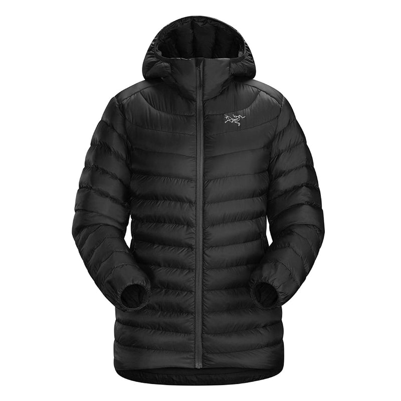 ArcTeryx Cerium LT Womens Down Hooded Jacket - Black