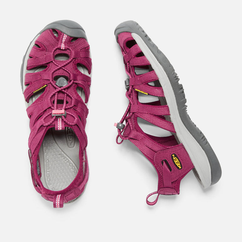 Keen Whisper Womens Sandals - Beet Red/Honeysuckle