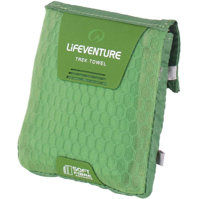 Lifeventure SoftFibre Advance Trek Towel - Green