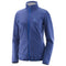 Salomon Discovery FZ Womens Fleece Jacket - Medieval Blue