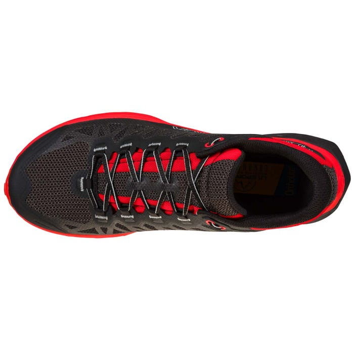 La Sportiva Karacal Mens Trail Running Shoe - Black/Goji