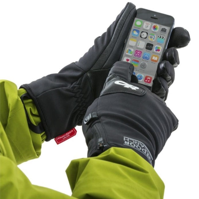 Outdoor Research Stormtracker Sensor Womens Gloves - Black