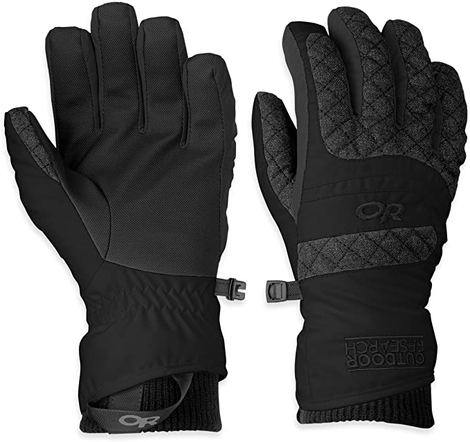 Outdoor Research Riot Mens Gloves - Black