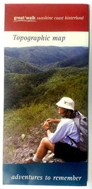 Great Walks Great Walk Sunshine Coast Hinterland Hiking Maps