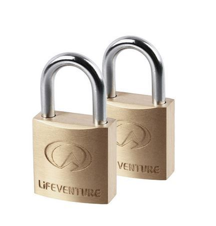 LifeVenture Mini Padlocks x2