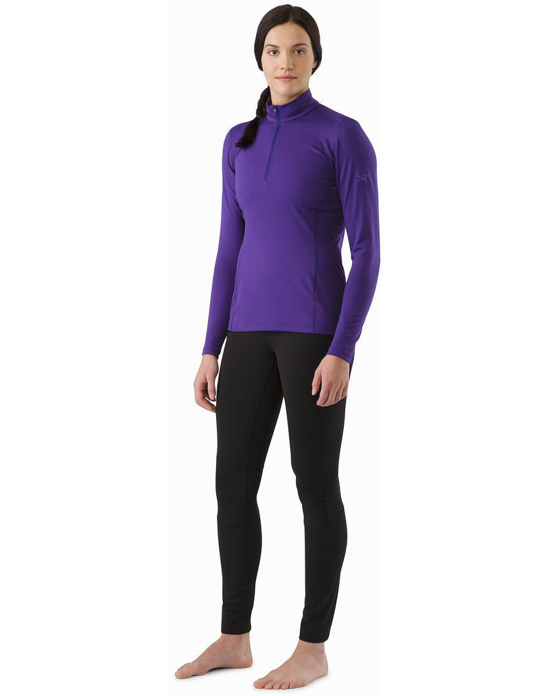 ArcTeryx Phase SL Zip Neck Womens Long Sleeve Top - Marianas