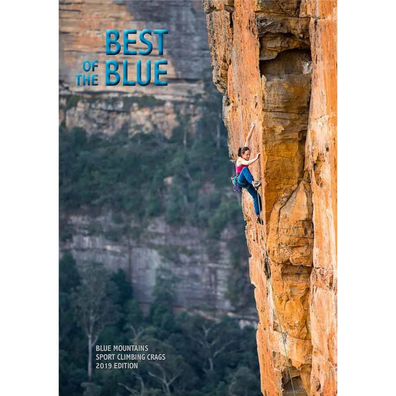 On Sight Photography Best of the Blue Climbing Guidebook