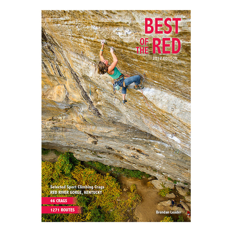 On Sight Photography Best of the Red Climbing Guidebook
