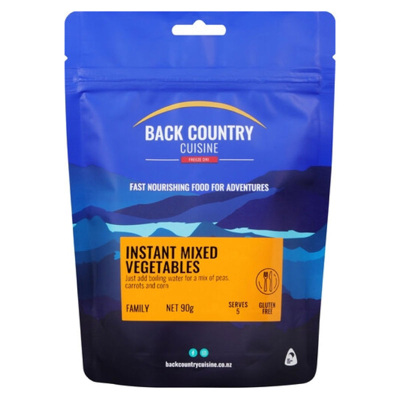 Back Country Freeze Dried Food - Instant Mixed Vegetables