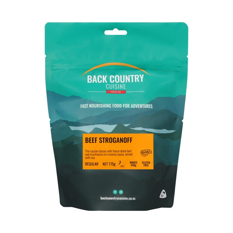 Back Country Freeze Dried Food - Beef Stroganoff