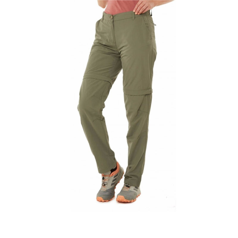 Craghoppers NosiLife Convertible III Womens Long Pant - Soft Moss