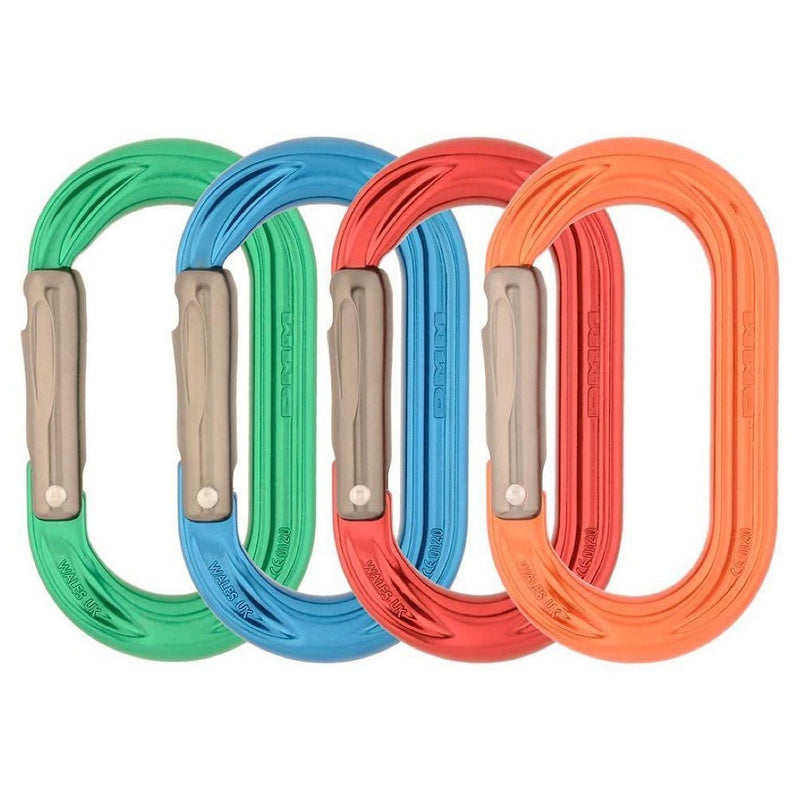 DMM PerfectO Straight Gate Climbing Carabiner 4 Pack