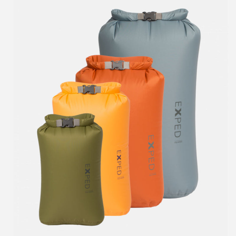Exped Fold Drybag - XS-L 4 Pack