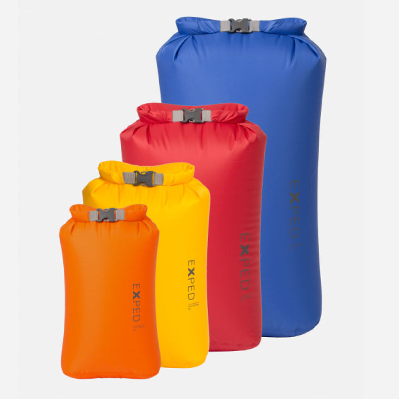 Exped Fold Dry Bag Set BS - 4 Pack XS-L