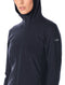 Icebreaker Descender Long Sleeve Zip Hood Womens Jacket - Midnight Navy