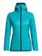 Icebreaker Hyperia Womens Hooded Jacket - Arctic Teal