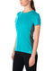 Icebreaker Amplify Short Sleeve Low Crewe Womens T-Shirt - Arctic Teal Heather/Nightfall Heather