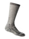 Icebreaker Mountaineer Mid Calf Womens Socks - Natural Monsoon Heather