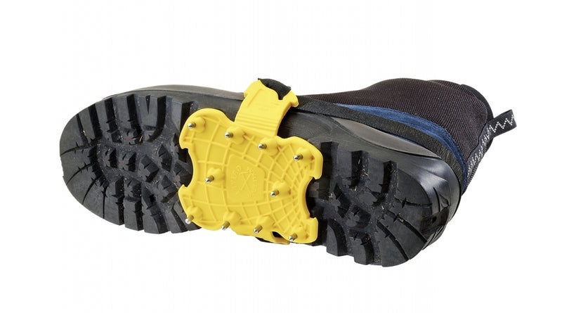 Grivel Spider Mountaineering Crampon with Bag - Yellow