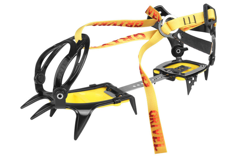 Grivel G10 New Classic with Antibott and Flexi Bar Mountaineering Crampon