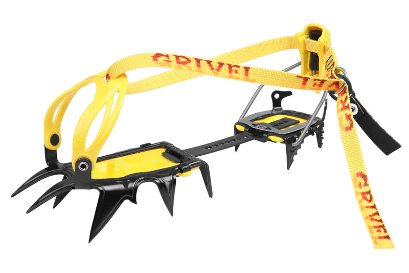 Grivel G12 NM with Antibott Mountaineering Crampon