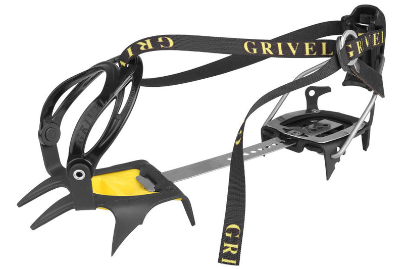 Grivel G1 NC with Antibott and Flex Bar Mountaineering Crampon