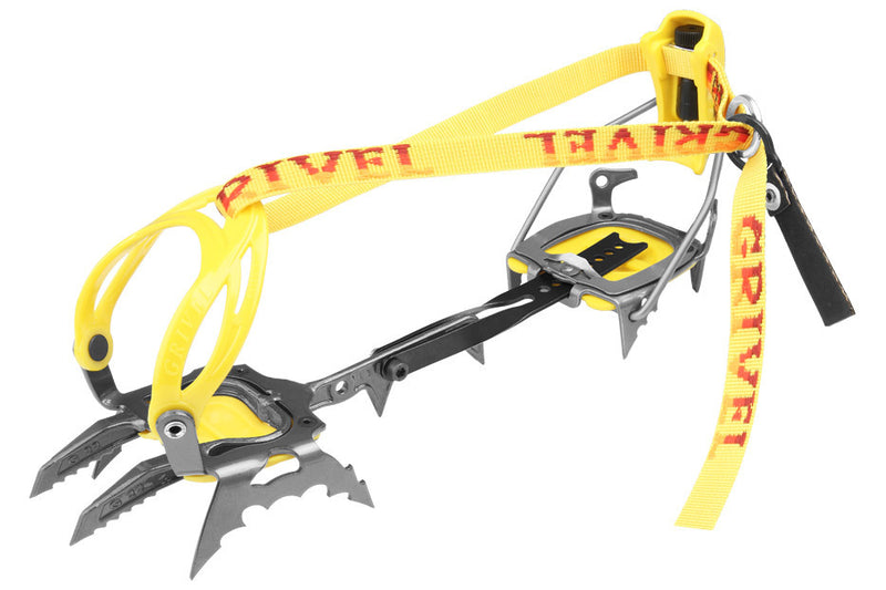 Grivel G14 NM with Antibott Mountaineering Crampon