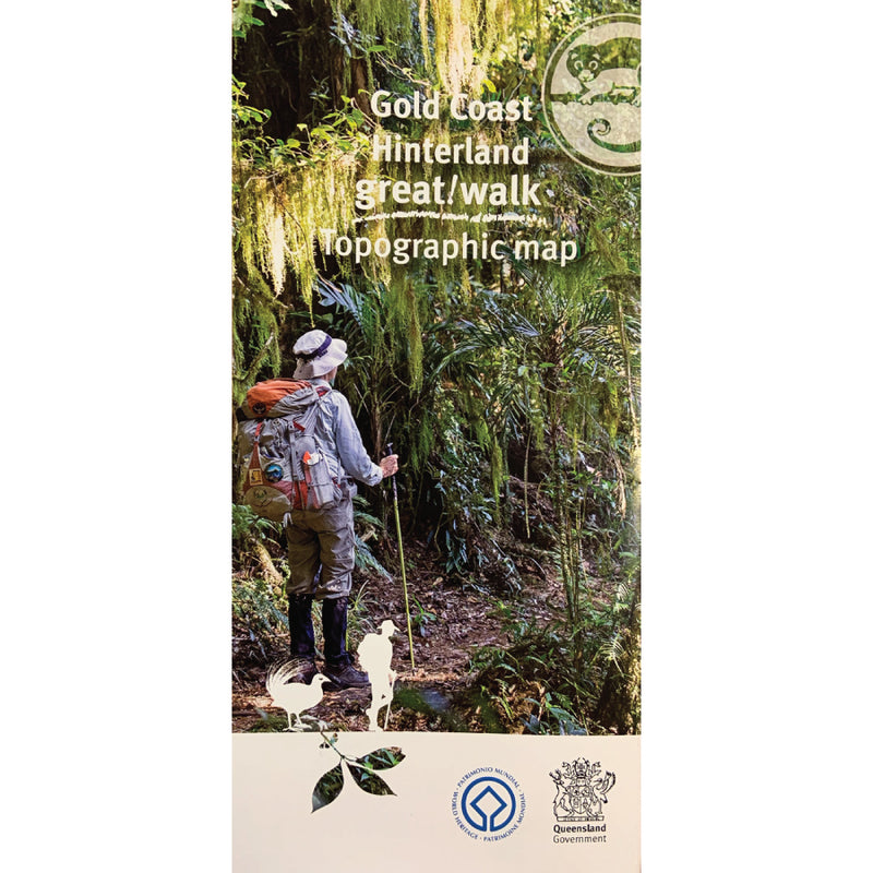 Great Walks Great Walk Gold Coast Hinterland Hiking Maps