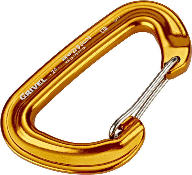 Grivel 24 Wire Gate Safety Climbing Carabiner