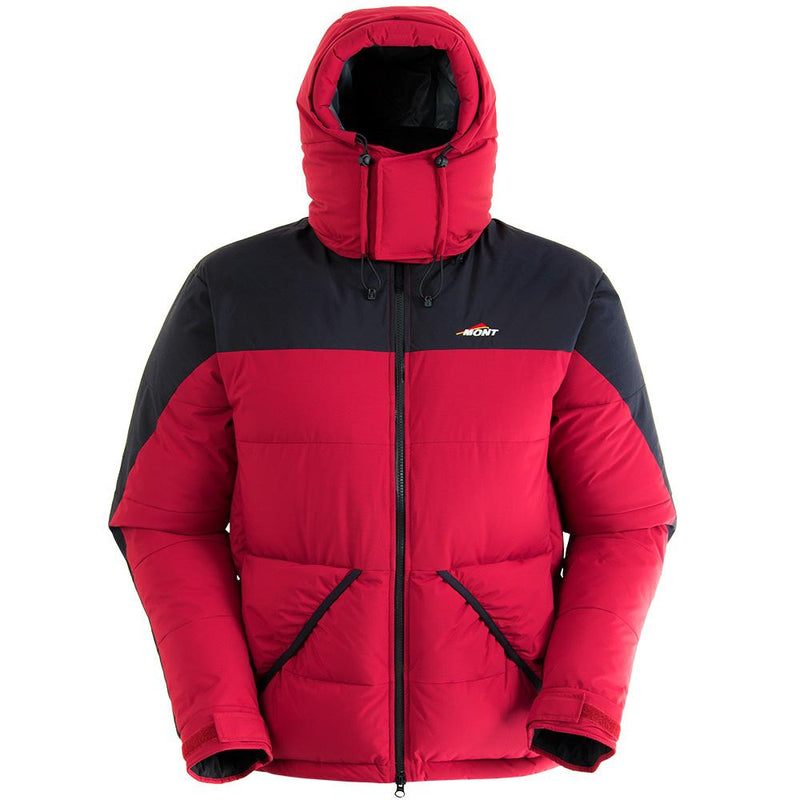 Mont Icicle Unisex Down Jacket - Cuban Red/Black