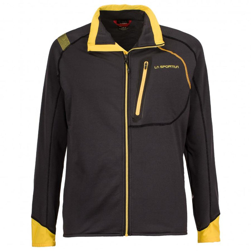 La Sportiva Shamal Mens Jacket - Black/Yellow