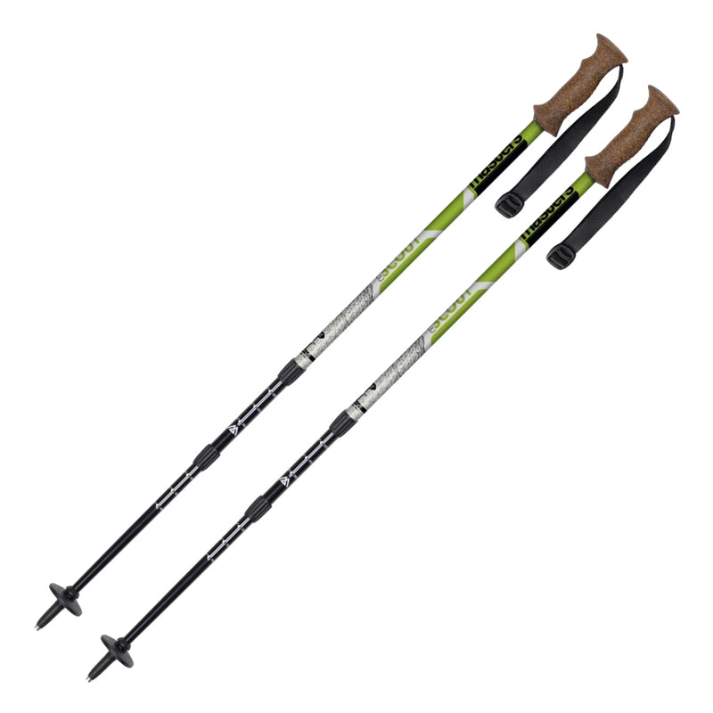 Masters Scout Hiking Poles - Green